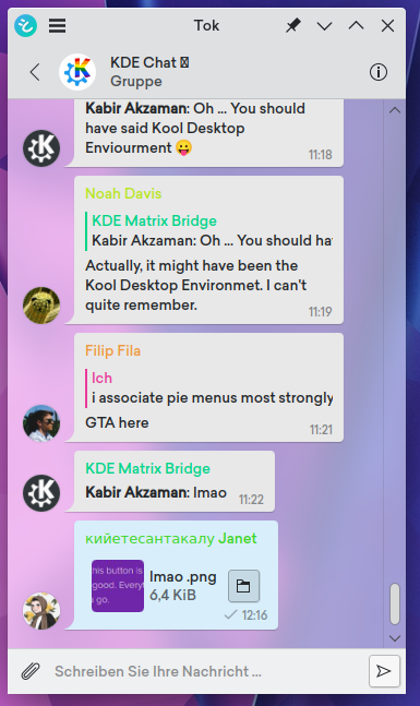 the messages view showing a file thumbnail