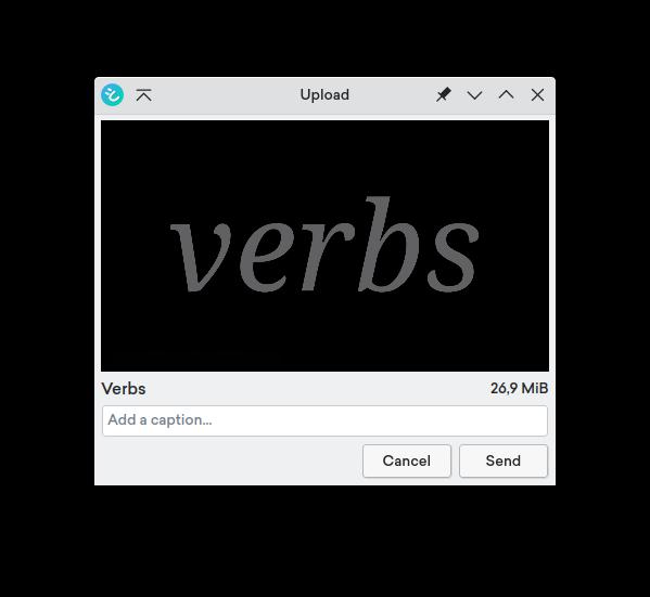 video upload on desktop